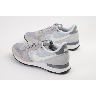 nike internationalist femme grise