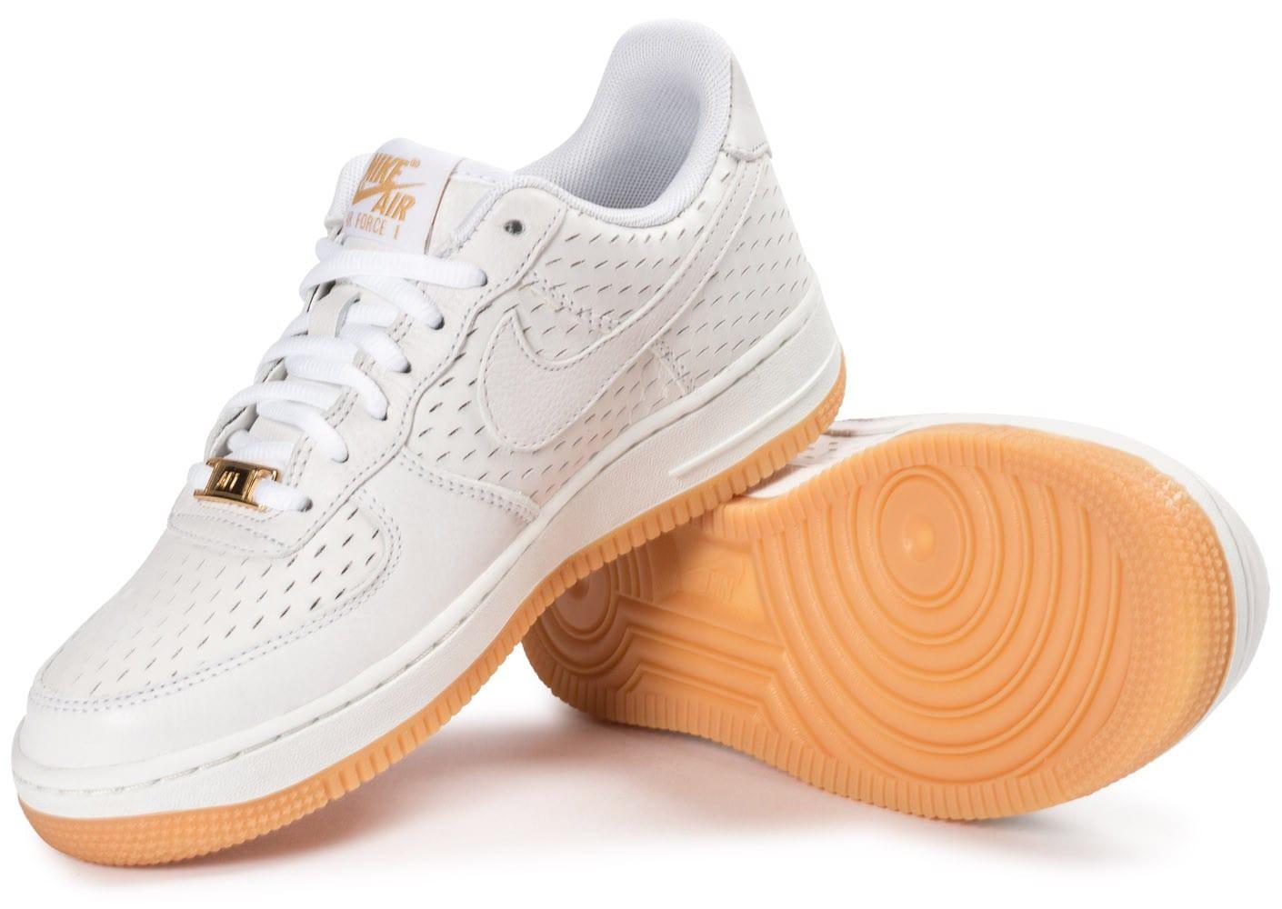 air force 1 blanche et marron