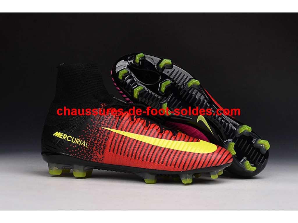 meet 02dea f2d32 chaussures de foot nike mercurial junior pas cher