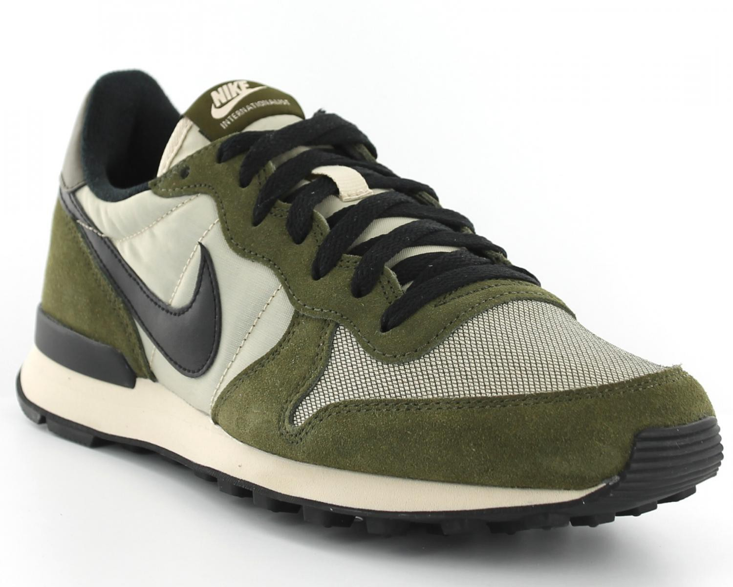 nike internationalist femme kaki